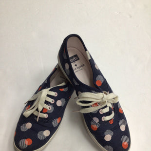 Primary Photo - BRAND: KATE SPADE STYLE: SHOES FLATS COLOR: NAVY SIZE: 6 OTHER INFO: KEDS X KATE SPADE SKU: 111-111247-63313