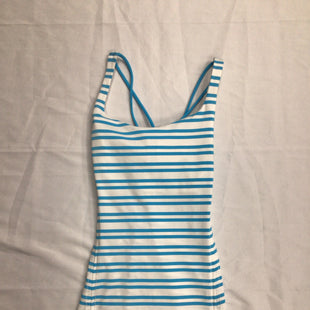 Primary Photo - BRAND: LULULEMON STYLE: ATHLETIC TANK TOP COLOR: STRIPED SIZE: 6 SKU: 111-111279-2849