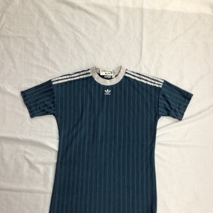 Primary Photo - BRAND: ADIDAS STYLE: DRESS SHORT SHORT SLEEVE COLOR: BLUE SIZE: M OTHER INFO: ATHLETIC DRESS SKU: 111-111292-18769