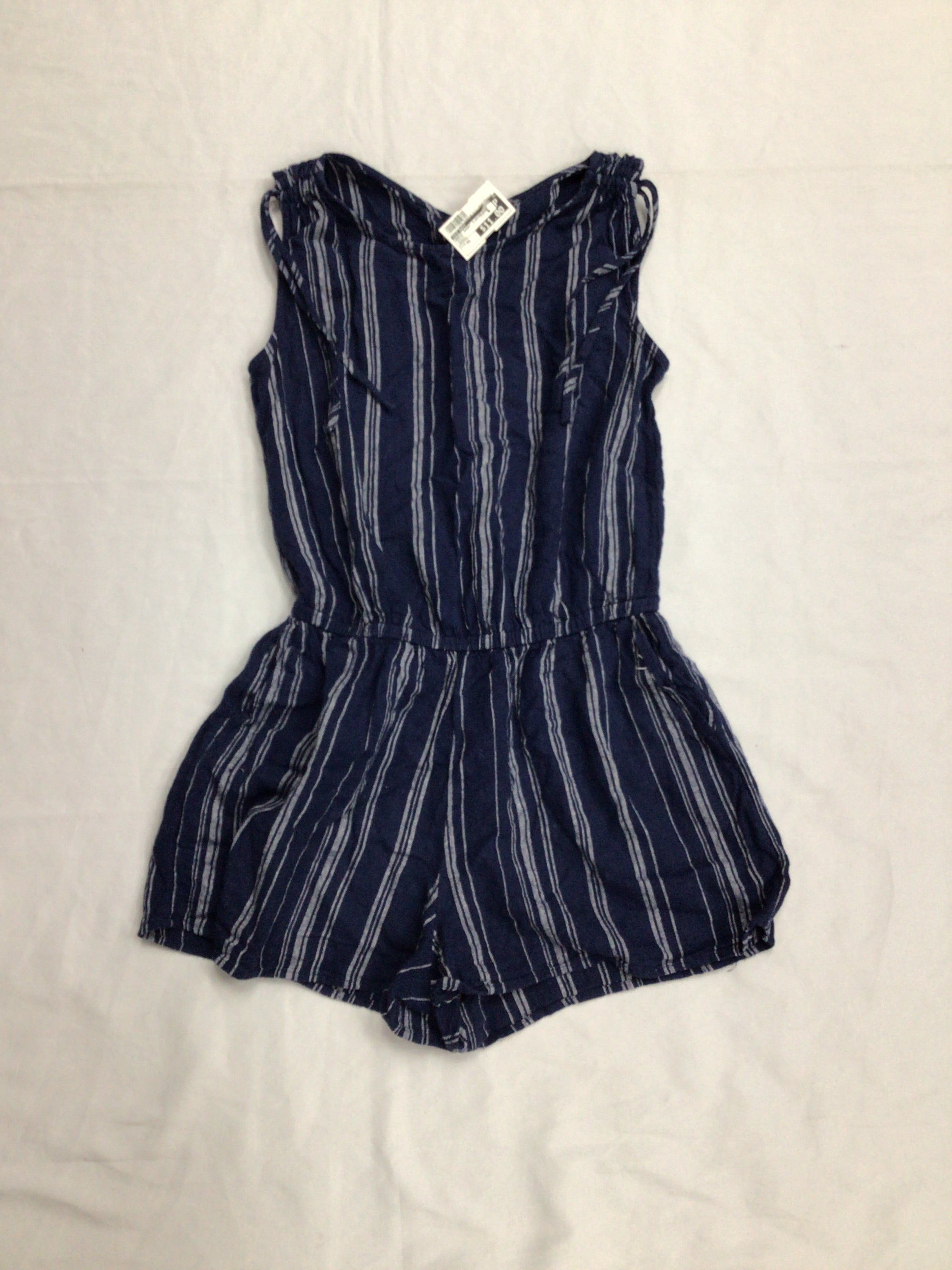 Primary Photo - BRAND: OLD NAVY <BR>STYLE: DRESS SHORT SLEEVELESS <BR>COLOR: DENIM <BR>SIZE: XS <BR>OTHER INFO: ROMPER <BR>SKU: 111-111279-6264