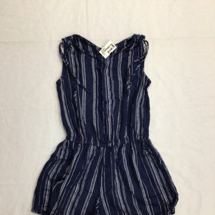 Primary Photo - BRAND: OLD NAVY STYLE: DRESS SHORT SLEEVELESS COLOR: DENIM SIZE: XS OTHER INFO: ROMPER SKU: 111-111279-6264