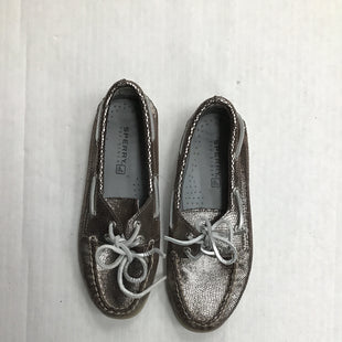 Primary Photo - BRAND: SPERRY STYLE: SHOES FLATS COLOR: METALLIC SIZE: 6 SKU: 111-111247-50431