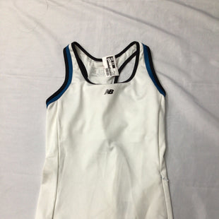 Primary Photo - BRAND: NEW BALANCE STYLE: ATHLETIC TANK TOP COLOR: WHITE SIZE: XS SKU: 111-111320-1702