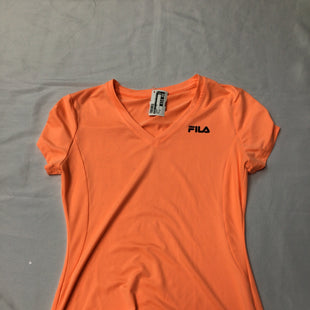 Primary Photo - BRAND: FILA STYLE: ATHLETIC TOP COLOR: ORANGE SIZE: XS SKU: 111-111317-1636