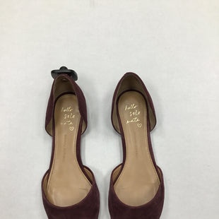 Primary Photo - BRAND: BANANA REPUBLIC STYLE: SHOES FLATS COLOR: BURGUNDY SIZE: 9 SKU: 111-111247-47499