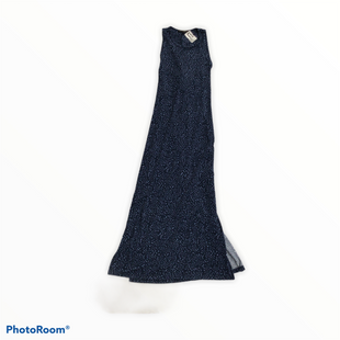 Primary Photo - BRAND: BANANA REPUBLIC STYLE: DRESS LONG SLEEVELESS COLOR: BLUE SIZE: M SKU: 111-111301-3893