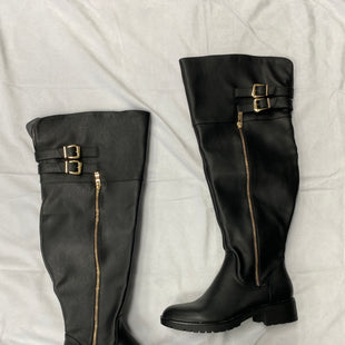 Primary Photo - BRAND: SHOEDAZZLE STYLE: BOOTS KNEE COLOR: BLACK SIZE: 6.5 SKU: 111-111247-54783