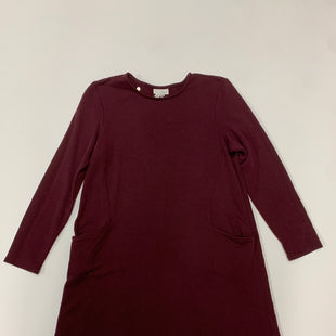 Primary Photo - BRAND: PURE JILL STYLE: DRESS SHORT LONG SLEEVE COLOR: PURPLE SIZE: PETITE   SMALL SKU: 111-111279-2108