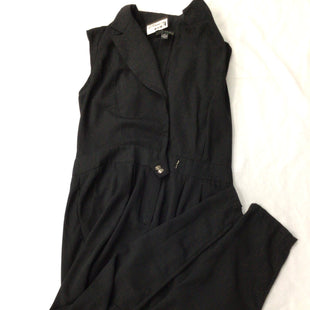 Primary Photo - BRAND: FOREVER 21 STYLE: DRESS LONG SLEEVELESS COLOR: BLACK SIZE: XL OTHER INFO: JUMPSUIT SKU: 111-111279-5432