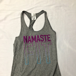 Primary Photo - BRAND: NIKE STYLE: ATHLETIC TANK TOP COLOR: GREY SIZE: XS SKU: 111-111292-18143