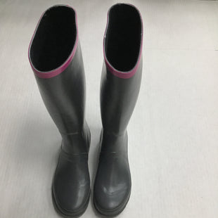 Primary Photo - BRAND: MARC BY MARC JACOBS STYLE: BOOTS RAIN COLOR: GREY SIZE: 9 SKU: 111-111301-2837