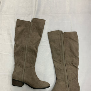 Primary Photo - BRAND: A NEW DAY STYLE: BOOTS KNEE COLOR: TAUPE SIZE: 6 OTHER INFO: NEW! SKU: 111-111247-65264