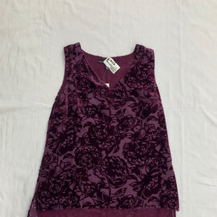Primary Photo - BRAND: WHITE HOUSE BLACK MARKET STYLE: TOP SLEEVELESS COLOR: PURPLE SIZE: 4 OTHER INFO: SMALL NEW! SKU: 111-111320-4172