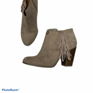 Primary Photo - BRAND: CARLOS SANTANA STYLE: BOOTS ANKLE COLOR: TAUPE SIZE: 8.5 SKU: 111-111247-57956