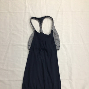 Primary Photo - BRAND: LULULEMON STYLE: ATHLETIC TANK TOP COLOR: NAVY SIZE: 2 SKU: 111-111292-16211