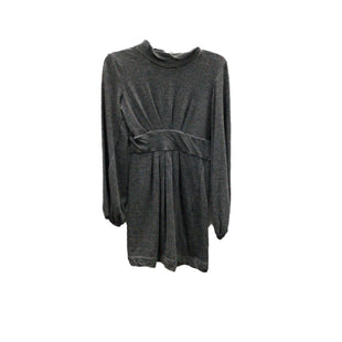Primary Photo - BRAND: THEORY STYLE: DRESS SHORT LONG SLEEVE COLOR: CHARCOAL SIZE: PETITE   SMALL SKU: 111-111279-6798