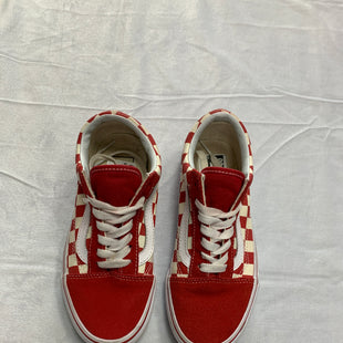 Primary Photo - BRAND: VANS STYLE: SHOES FLATS COLOR: RED SIZE: 5 SKU: 111-111292-14954