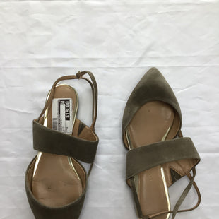 Primary Photo - BRAND: BANANA REPUBLIC STYLE: SHOES FLATS COLOR: OLIVE SIZE: 6 SKU: 111-111292-7104