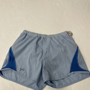 Primary Photo - BRAND: UNDER ARMOUR STYLE: ATHLETIC SHORTS COLOR: BABY BLUE SIZE: S SKU: 111-111317-1724
