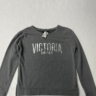 Primary Photo - BRAND: VICTORIAS SECRET STYLE: ATHLETIC TOP COLOR: GREY SIZE: S SKU: 111-111320-3764