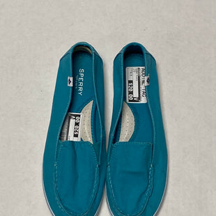 Primary Photo - BRAND: SPERRY STYLE: SHOES FLATS COLOR: TEAL SIZE: 9.5 SKU: 111-111247-47459