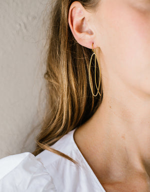 AMANDE EARRINGS GOLD