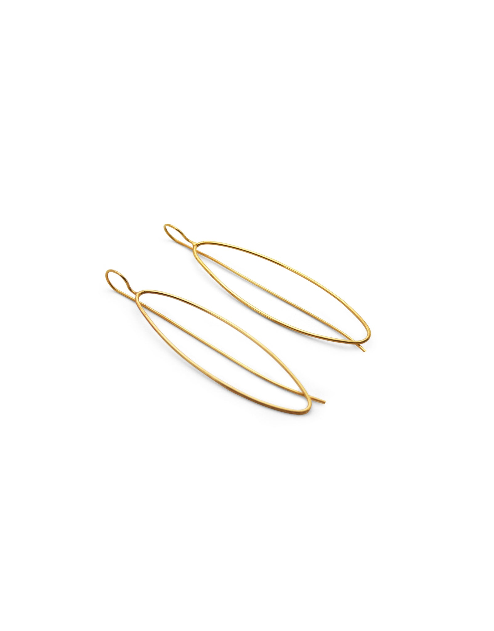 AMANDE EARRINGS GOLD-PLATED