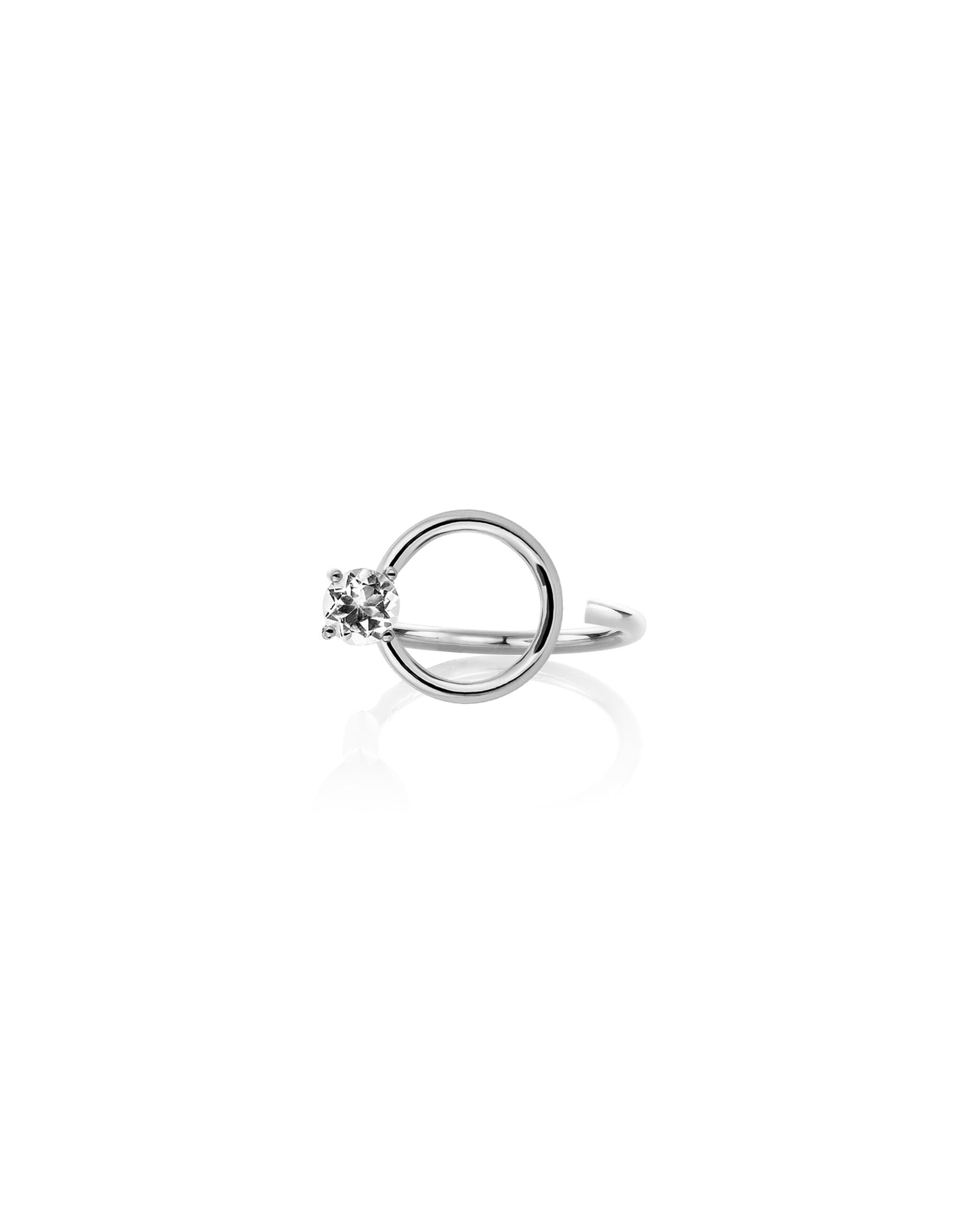 CURL RING TOPAZ