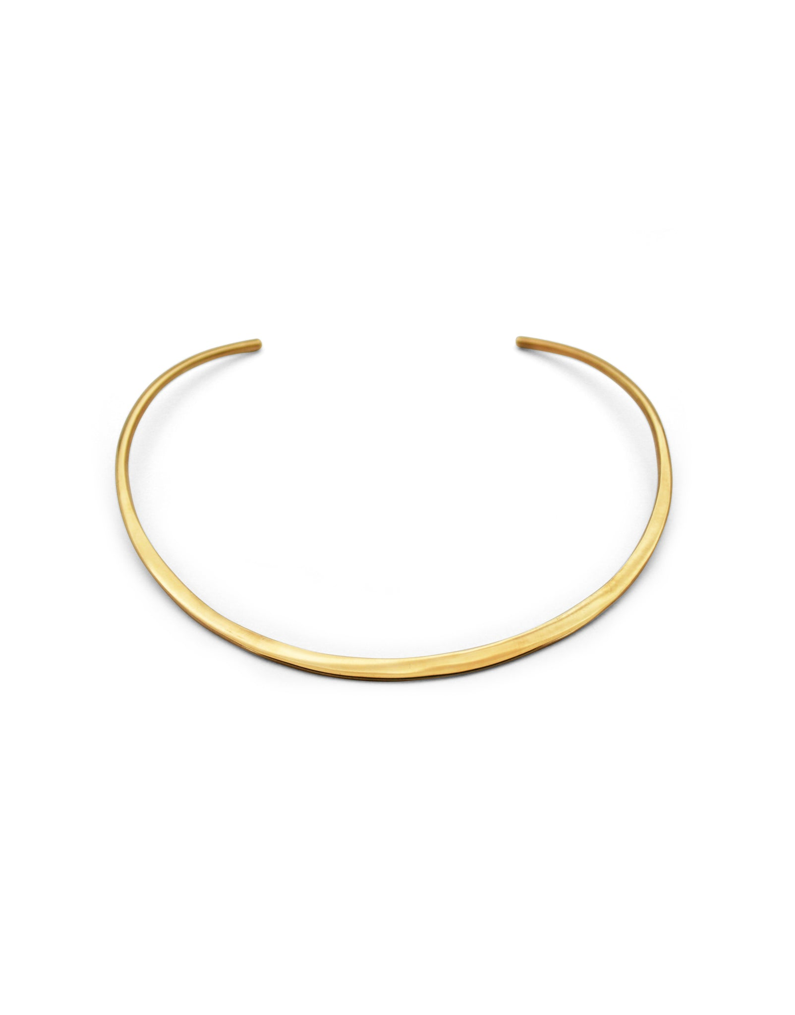 CHOKER MOON GOLD-PLATED