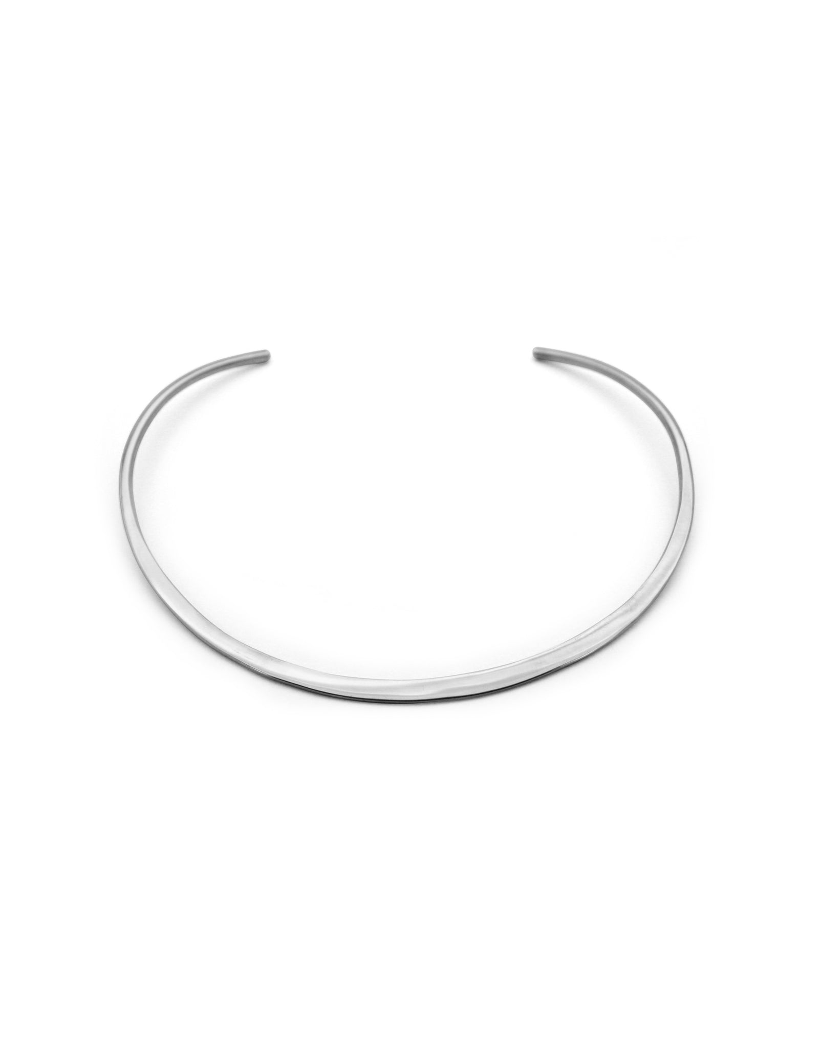 CHOKER MOON SILVER-PLATED