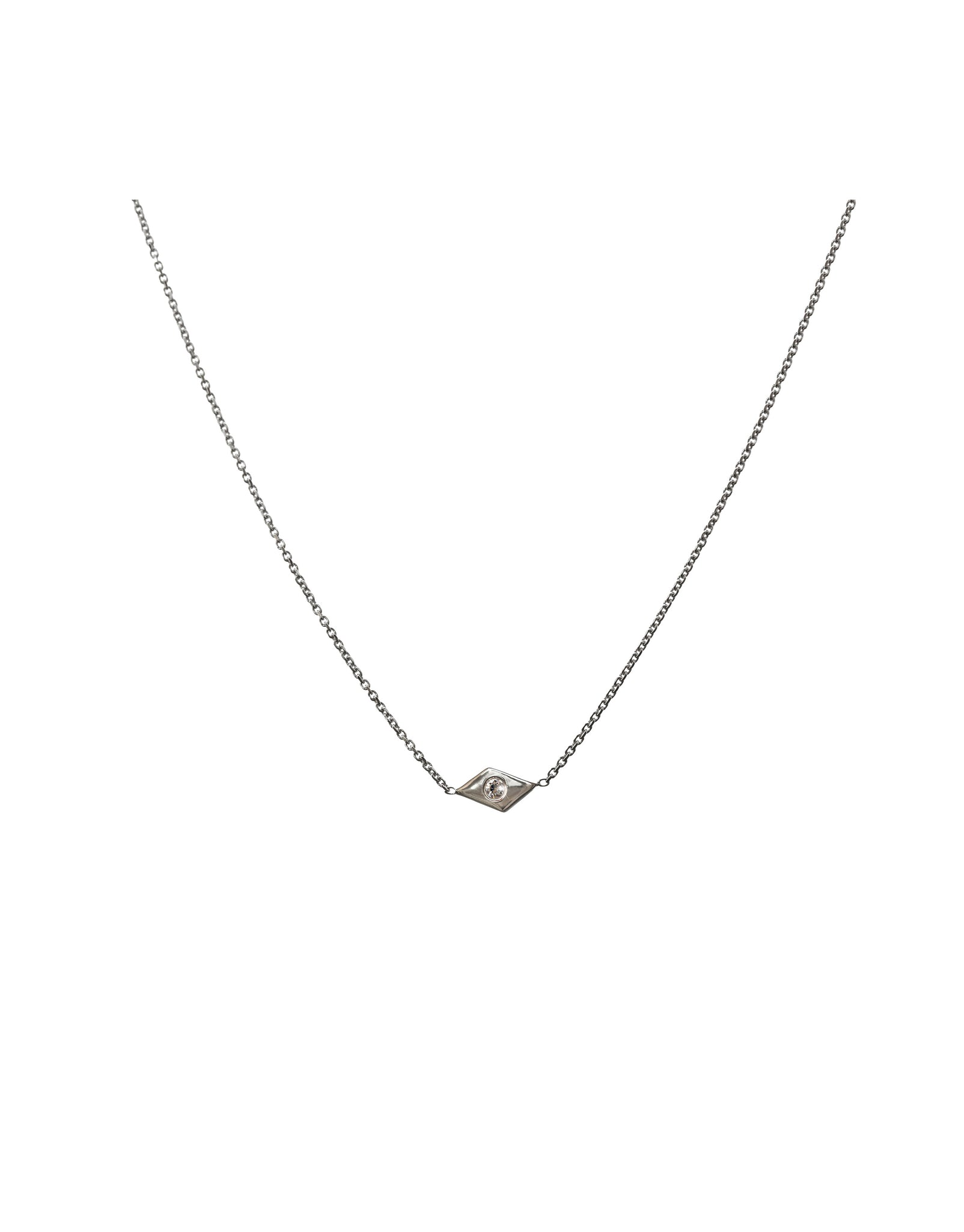 NECKLACE SNAKE EYE DIAMOND