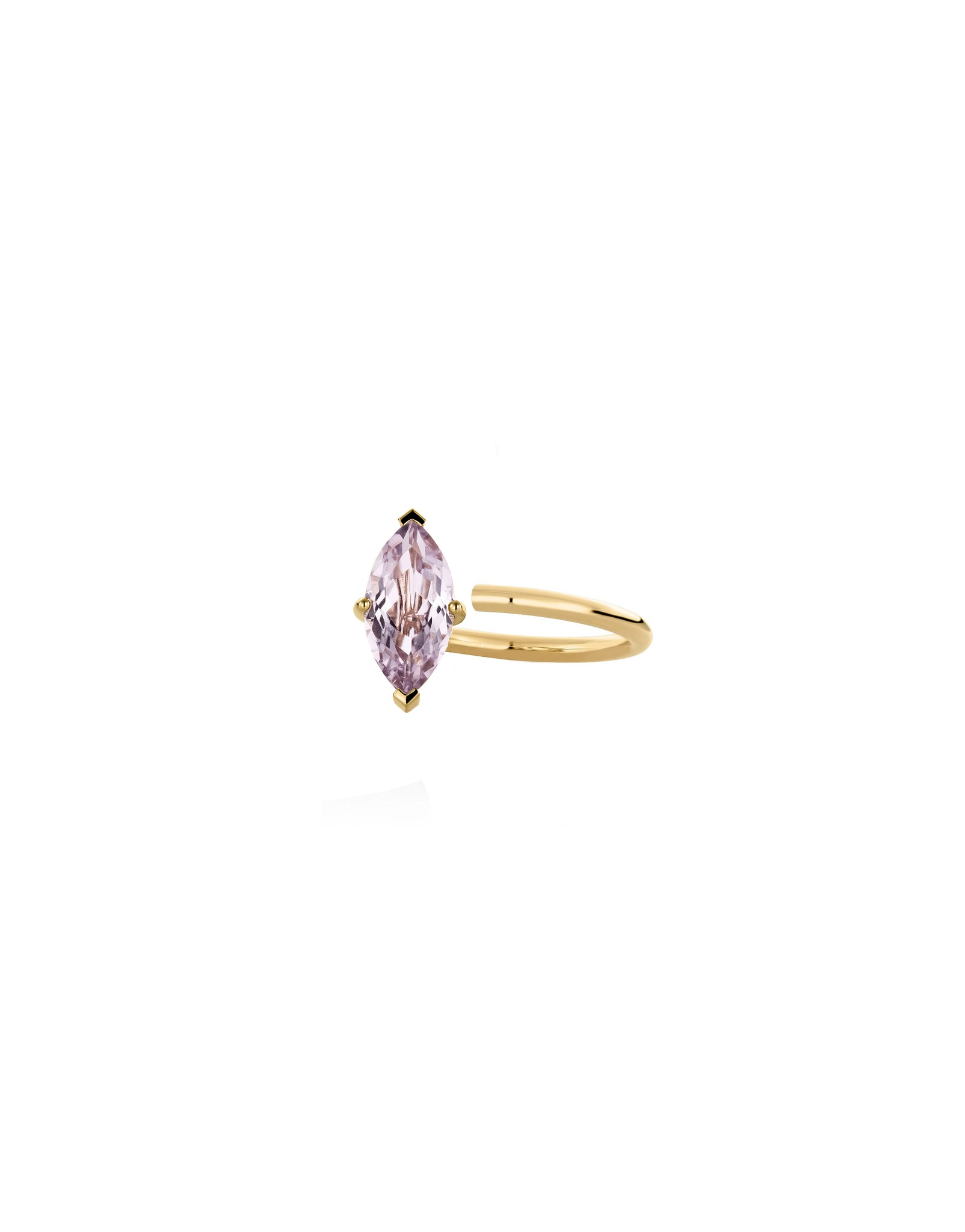 SMALL MARQUISE RING AMETHYST