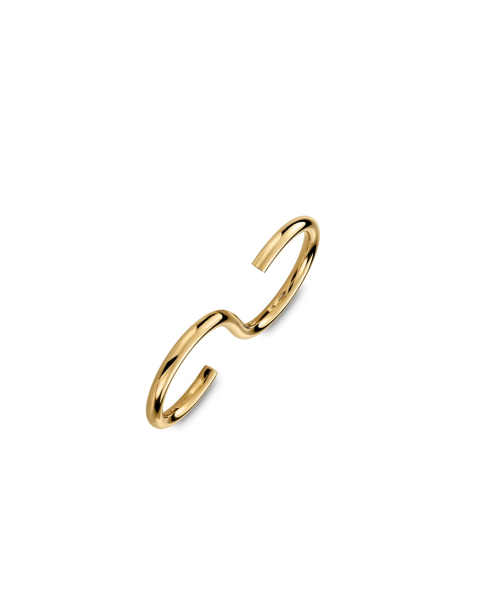 Double ring 9K gold - Signature ouble ring - Nayestones