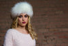 Winter White Faux Fur Headband