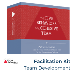 Facilitation Kit - Team Development (Everything DiSC®)