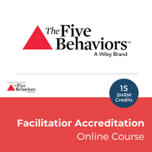 Load image into Gallery viewer, ONLINE - The Five Behaviors FACILITATOR ACCREDITATION