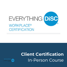 Load image into Gallery viewer, IN PERSON - Everything DiSC® CLIENT CERTIFICATION