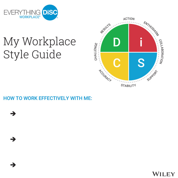 My Style Guides (25/set) - Workplace