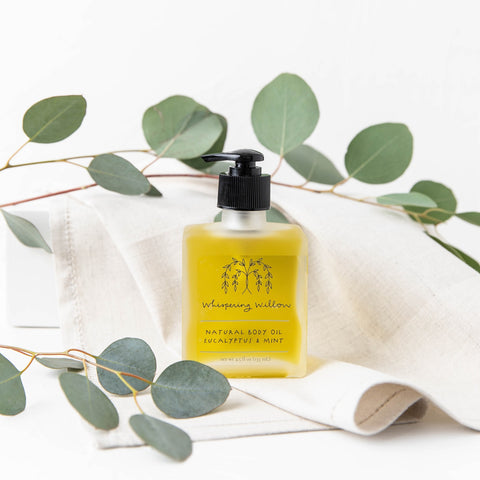 Whispering Willow Body Oil - Eucalyptus & Mint