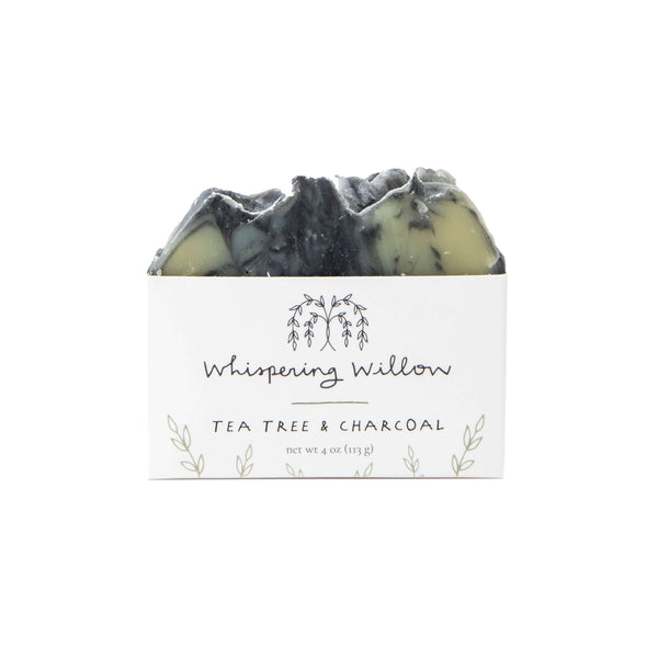 Tea Tree with Charcoal Soap, 6 pack