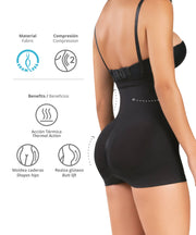 1580 - Seamless Underbust Body Shaper in Boyshort