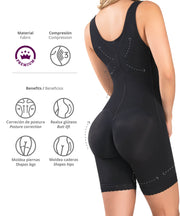 455 - High Control Mid-Thigh Bodysuit