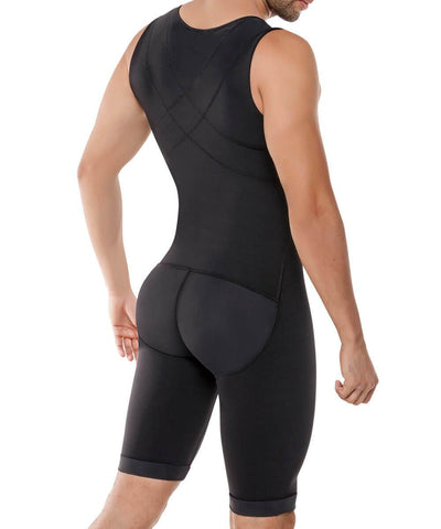 298 - Men's Abdomen and Legs Control Bodysuit