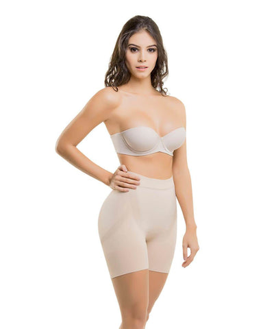 CYSM - Colombia y su Moda 1504 - Seamless Abdomen Contouring Seamless Thermal Shorts [product_vendor ]  Seamless, CYSM, Fajas Premium, Shapewear, Body Shaper