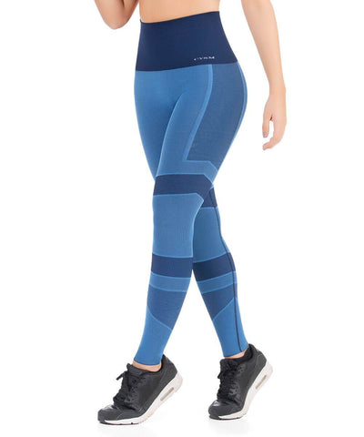 935 - Ultra Compression and Abdomen Control Stripped Fit Legging