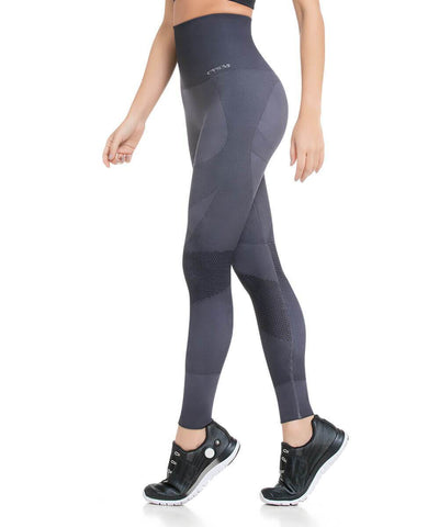 936 - Ultra High Compression and Abdomen Control Fit Mesh Legging