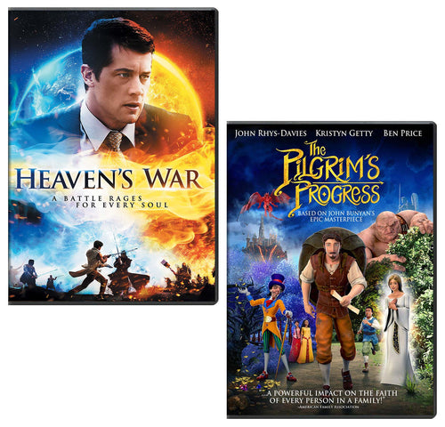 Heaven's War & Pilgrim's Progress - DVD