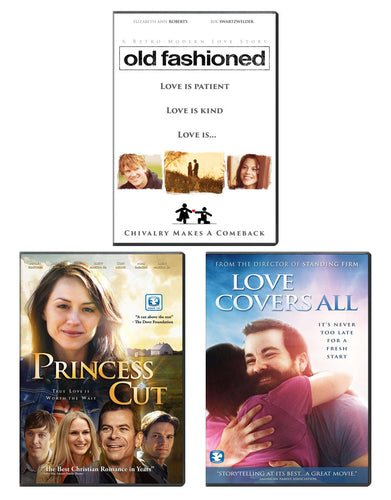 Old Fashioned, Princess Cut, & Love Covers All - DVD 3-Pack