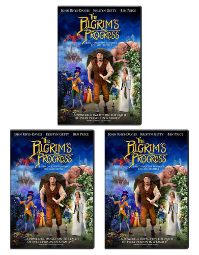 Pilgrim's Progress - DVD Share 3-Pack