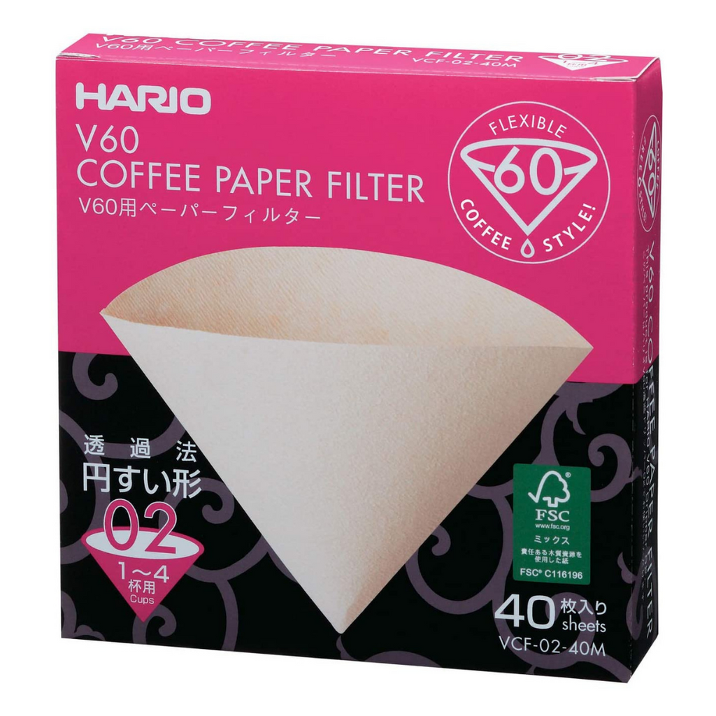 HARIO V60-02 (40 PACK) - Hale Coffee Co.